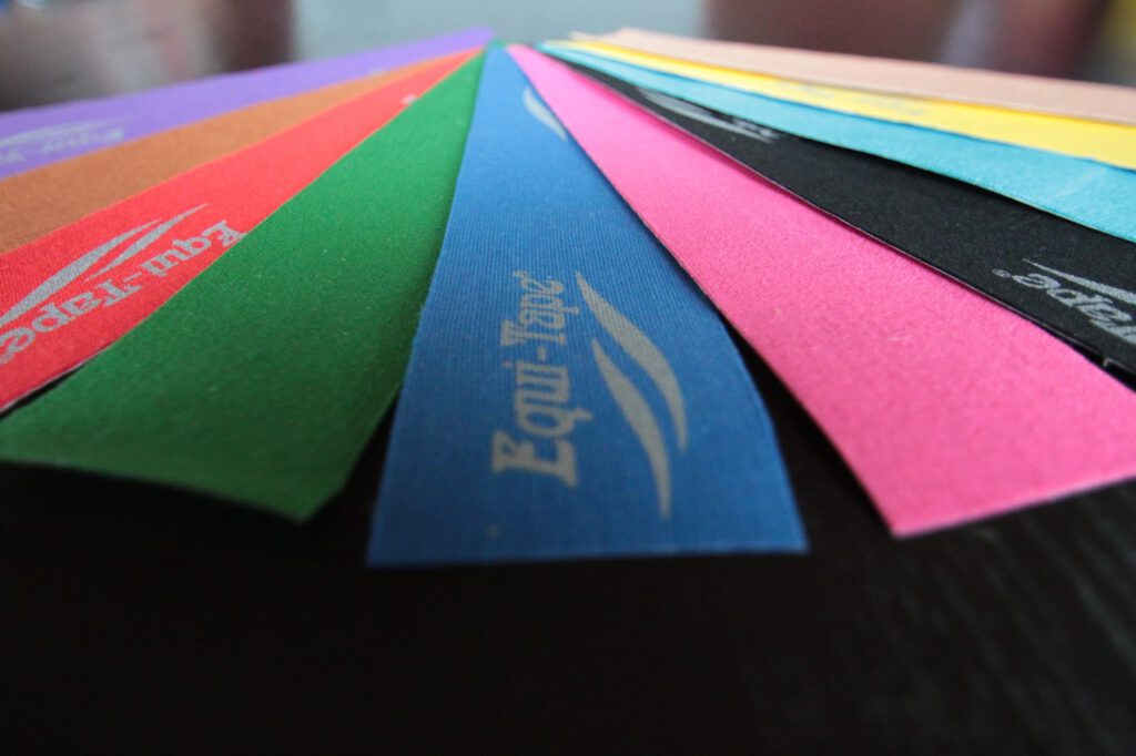 Kinesiologisches Taping - Farben